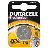Duracell CR 2016 D 1-BL Duracell (DL 1620) - Pilas de botón (Litio, 10 Unidades)