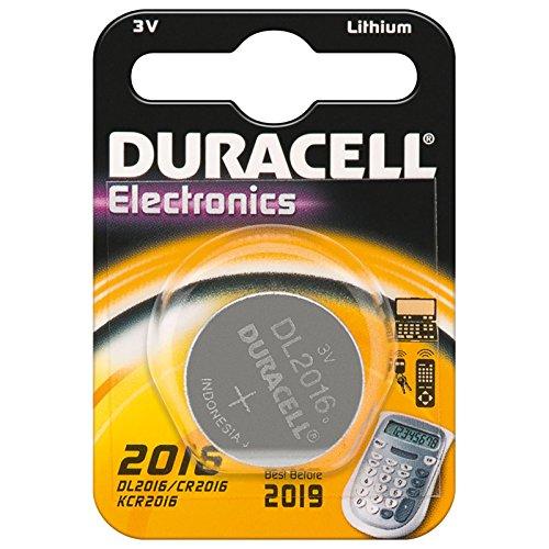 3er Set Duracell CR 2016 D 1-BL Duracell (DL 1620) Knopfzelle Lithium