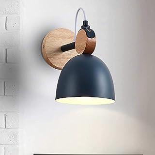 WYRKYP Applique Murale Réglable Salon Intérieur Avec Prise E27 Led Lumière Chaude Applique Moderne Luminaire Pour Couloir ...