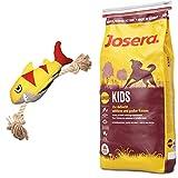 Josera 15 kg Kids + Hundespielzeug Hai von Hunter