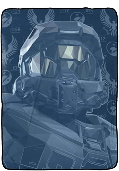 Jay Franco Halo Duty Honor Blanket Measures 62 X 90 Inches Kids Bedding Features The Master Chief Fade Resistant Super Soft Fleece Official Product