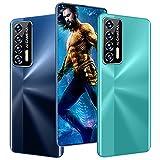Reolme7 (K601) - Smartphone 7.3 pulgadas HD + (4 GB RAM, 64 GB ROM, 50 MP y 32 MP cámara, batería 68000 MAh, Qualcomm 888), versión global, azul, grande