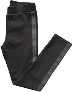 Moncler Junior - Pantalones leggins para niña E2 954 8761000 829F4, color negro