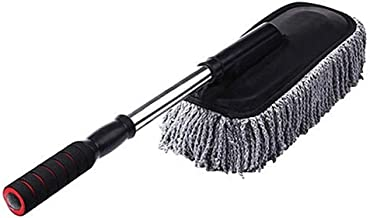 Rexez Microfiber Flexible Duster Car Wash | Car Cleaning Accessories | Microfiber | Brushes | Dry/Wet Home, Kitchen, Office Cleaning Brush with Expandable Handle