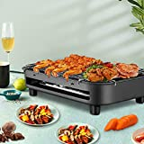 TTLIFE Smokeless Electric BBQ <span class='highlight'>Grill</span>s Indoor Electric BBQ Machine Multifunctional Teppanyaki <span class='highlight'>Barbecue</span> High Performance Baking Pan Ideal for Family Dinner and Garden Party