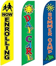 3 Swooper Flags Now Enrolling Day Care & Summer Camp