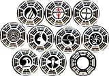 """Dharma Initiative x 10 New 1"""" inch (25 mm) Buttons pins Badges Lost"""