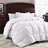 ROSECOSE Luxurious Goose Down Comforter King Size Duvet Insert All Seasons Solid...