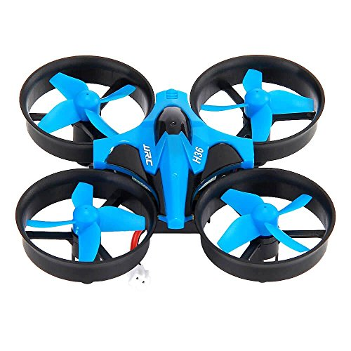 Mini Drone RC Drone Quadcopters Headless Mode One Key Return RC Helicóptero VS JJRC H8 Mini Mejores Juguetes para Niños.ZHA-GOO,Blue