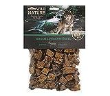 Dehner Wild Nature - Comida para Perros, Cubitos de pulmón de Ciervo, sin aditivos, 200 g