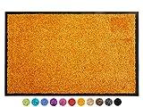 Primaflor - Ideen in Textil Schmutzfangmatte CLEAN – Orange 120x180 cm