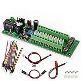 PCB012 Power Distribution Board Self-Adapt Distributor HO N O LED Street Light Hub DC AC Voltage Train Power Control