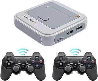 Émulateurs Super Console X 50+, émulateurs de Console de Jeu à Sortie HDMI WiFi S905M 30000 + Jeux rétro, Lecteur de Jeu v...