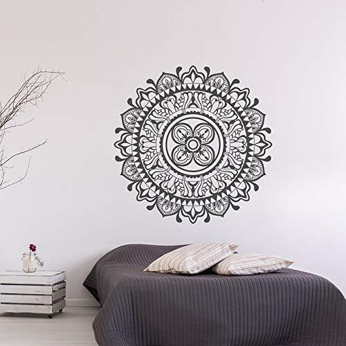 Mandala etiqueta Mandala vinilo adhesivo de fondo pegatina bohemia dormitorio pared pegatina pegatina de fondo A5 57x57cm