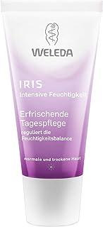 WELEDA Iris Erfrischende Tagespflege, reichhaltige Naturkosmetik Feuchtigkeitspflege zur intensiven Pflege von trockener Haut, Creme zum Schutz vor Umwelteinflüssen 1 x 30 ml