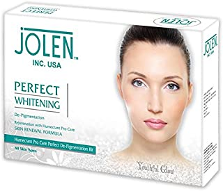 Jolen Perfect whitening facial kit, improves fairness and provides good skin