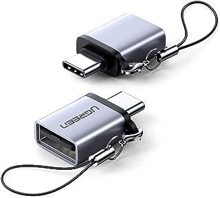 UGREEN USB C to USB 3.0 変換アダプタ Thunderbolt 3 OTG対応5Gbps 超高速データ転送 iPad Pro2020,MacBook,Samsung Note10 S20 S10 S9 A70 A50,Hu...