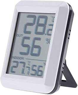 xdrfxrghjku Estación Meteorológica Medidor Electrónico De Humedad De Temperatura Termómetro Inalámbrico Higrómetro Interio...