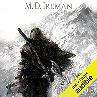 The Axe and the Throne     Bounds of Redemption, Volume 1              By:                                                                                                                                 M. D. Ireman                               Narrated by:                                                                                                                                 Matt Cowlrick                      Length: 22 hrs and 24 mins     128 ratings     Overall 4.1