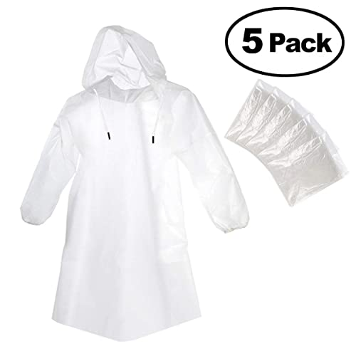Youth Girls Sizes Clear Rain Jacket With Hood