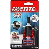 Loctite 1647358 Super Glue Ultra Control, 4 Grams, Single, Fast Acting Liquid Formula