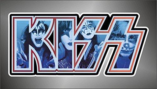 Graphic-lab Aufkleber - Sticker The Kiss hip hop Rap Jazz Hard Rock pop Funk Sticker