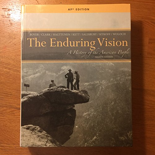 Price comparison product image The Enduring Vision: A History of the American People