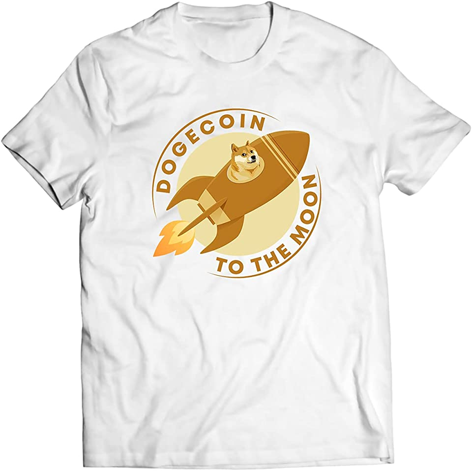 DogeCoin Doge Shirt - Crypto Meme Gift, Dogecoin HODL To The Moon Shirts, Cryptocurrency Shirt, Blockchain Token Shirt