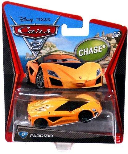 Disney Pixar Cars 2 Fabrizio # 47 *Chase* - Voiture Miniature Echelle 1:55