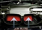 AVT Air Intake Scoop E46 BMW M3 01-06 Red