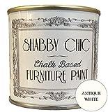 Blanc Ancien (Antique White) Base Et Peinture A La Craie Pour Meubles Shabby Chic 1...