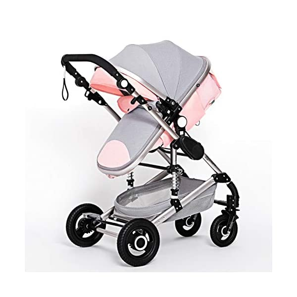 RianGo Baby Stroller 3 in 1 newborn stroller baby car pushchair High Landscape baby pram strollers for 0 36 months baby trolley RianGo The three-in-one adjustable 5-point seat belt has comfortable shoulder pads, and the firm frame has a wider seat, which can bring your child a more comfortable riding experience. . Weight: 25 kg bearing load: 5 kg bearing load: 8 kg bearing load: 25 kg The stroller can be easily folded, smaller and lighter. The angle of the backrest is adjustable, you can sit or lie down, there is also a large shopping basket and casters 3D shock absorber, triple shock absorber can effectively relieve external vibration, and effectively protect the baby's brain development. 2