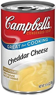 Campbell's, Condensed Cheddar Cheese Soup, 10.75oz Can (Pack of 6)