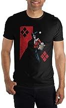 DC Comics Batman Harley Quinn Half and Half Mens T Shirt