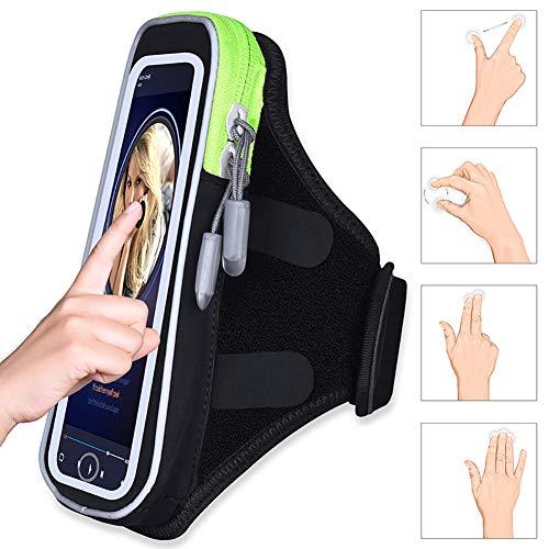 LM Handy-Armpackung Sport Armband 3D Stereo touchable schlüsselanhänger wasserdicht für iPhone x ss Samsung s9 s8 s6 s6 Edge Plus
