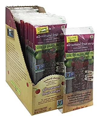 Stretch Island Original Fruit Leathers Cherry, 0.5 Ounce -- 30 per case