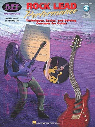 Rock Lead Performance: Master Class Series [Lingua inglese]
