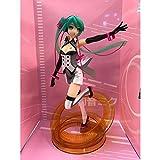 WISHVYQ Miku Anime Modelo Manía bidimensional en Caja Oficina de Mano Aberdeen Versión Escultura Decoración Estatua Muñeca Modelo Juguete Altura 23 cm