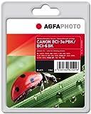 AgfaPhoto BCI/4485A0023ePBK/BCI-6BK/4705a002Tintenkartusche für Canon Pixma iP4000, verschiedene Farben