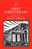 First Corinthians Anchor Bible Commentaries (Anchor Yale Bible)