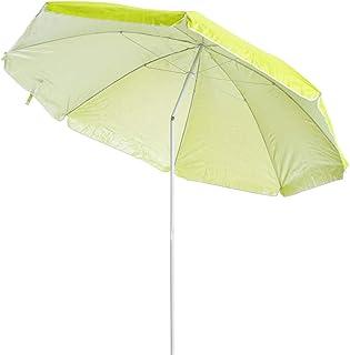 comprar comparacion LOLAhome Sombrilla de Playa de Ø 220 cm (Sin Soporte, Verde)