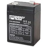 Batteria Ermetica al piombo 6V 4,5 Ah EnergyTeam