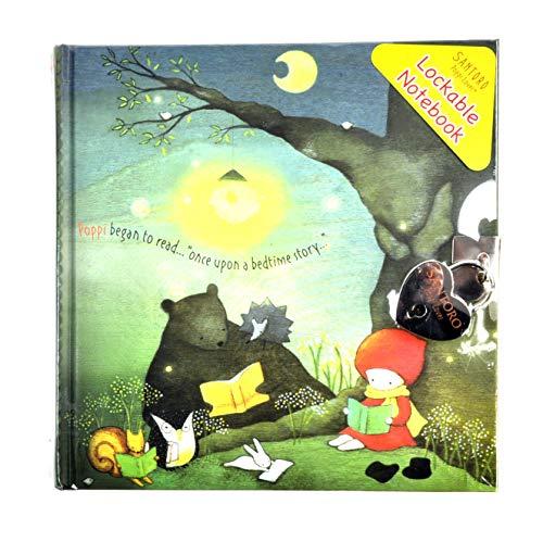 Gorjuss Poppy Loves - Cuaderno con cerradura