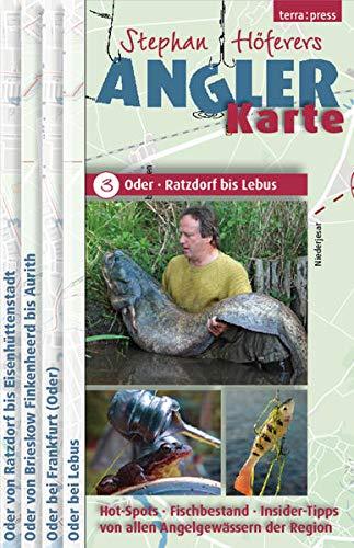 Angler-Karte: Oder: Ratzdorf bis Lebus