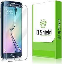 IQ Shield Screen Protector Compatible with Samsung Galaxy S6 Edge LiquidSkin Anti-Bubble Clear Film
