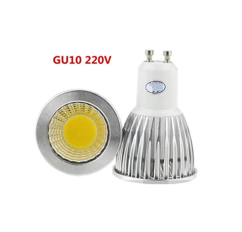 Bombilla Campana Extractora 3X Lampada de alta potencia Led GU10 220V 12w Foco Led de mazorca regulable Lámpara de bombilla blanca fría cálida de 12V-si_Blanco puro 4000k: Amazon.es: Iluminación