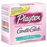 Playtex Gentle Glide Deodorizing Super Plus Tampons, 36 ct