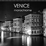 Venice - monochrome (Wall Calendar 2022 300 × 300 mm Square): Famous landmarks of the City of Venice in black and white (Monthly calendar, 14 pages )