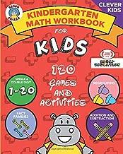 Elmer Smiles: Jumbo Kindergarten Math Workbook: Fun Addition & Subtraction Exercises and Games (Smiles Clever Kids Series)