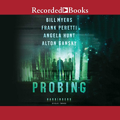 Probing audiobook cover art